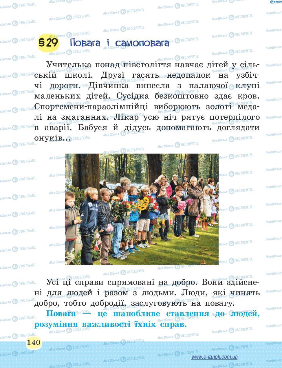 Учебники Основы здоровья 4 класс страница 140