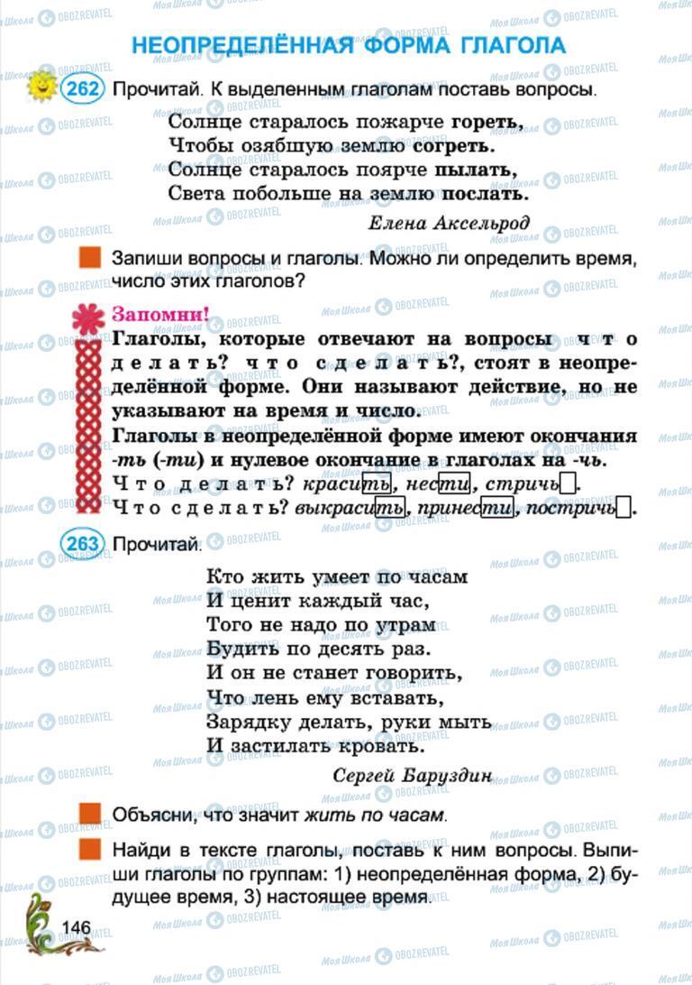 Учебники Русский язык 4 класс страница 146