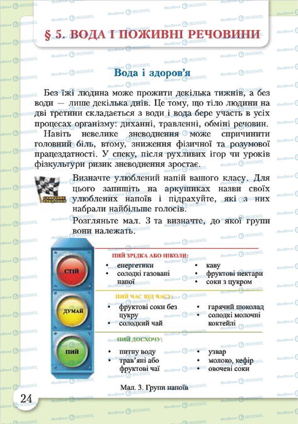 Учебники Основы здоровья 4 класс страница 24