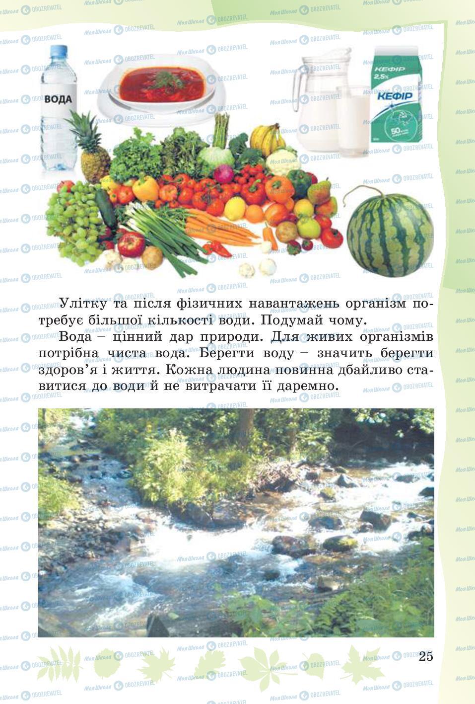 Учебники Основы здоровья 4 класс страница 25