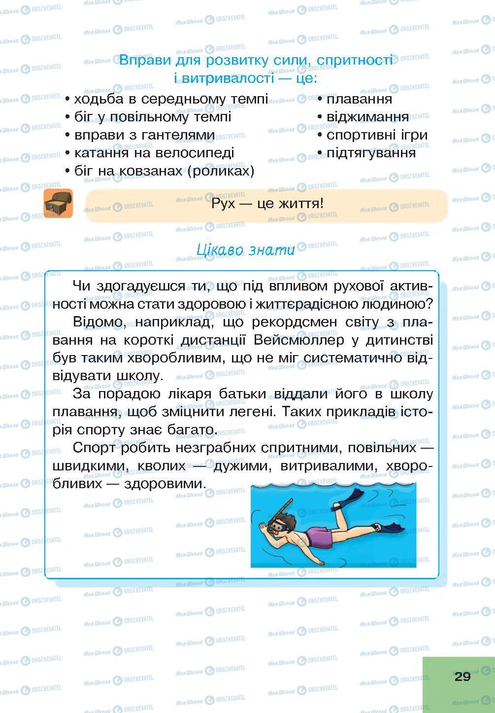 Учебники Основы здоровья 4 класс страница 29