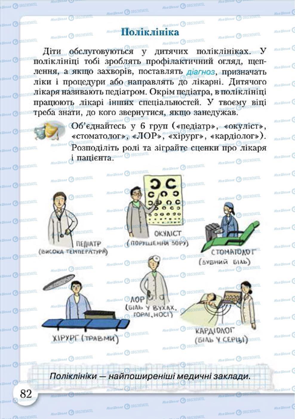 Учебники Основы здоровья 4 класс страница 82