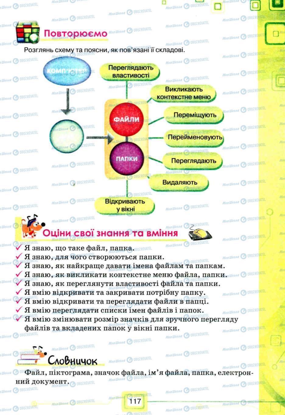 Учебники Информатика 5 класс страница 117
