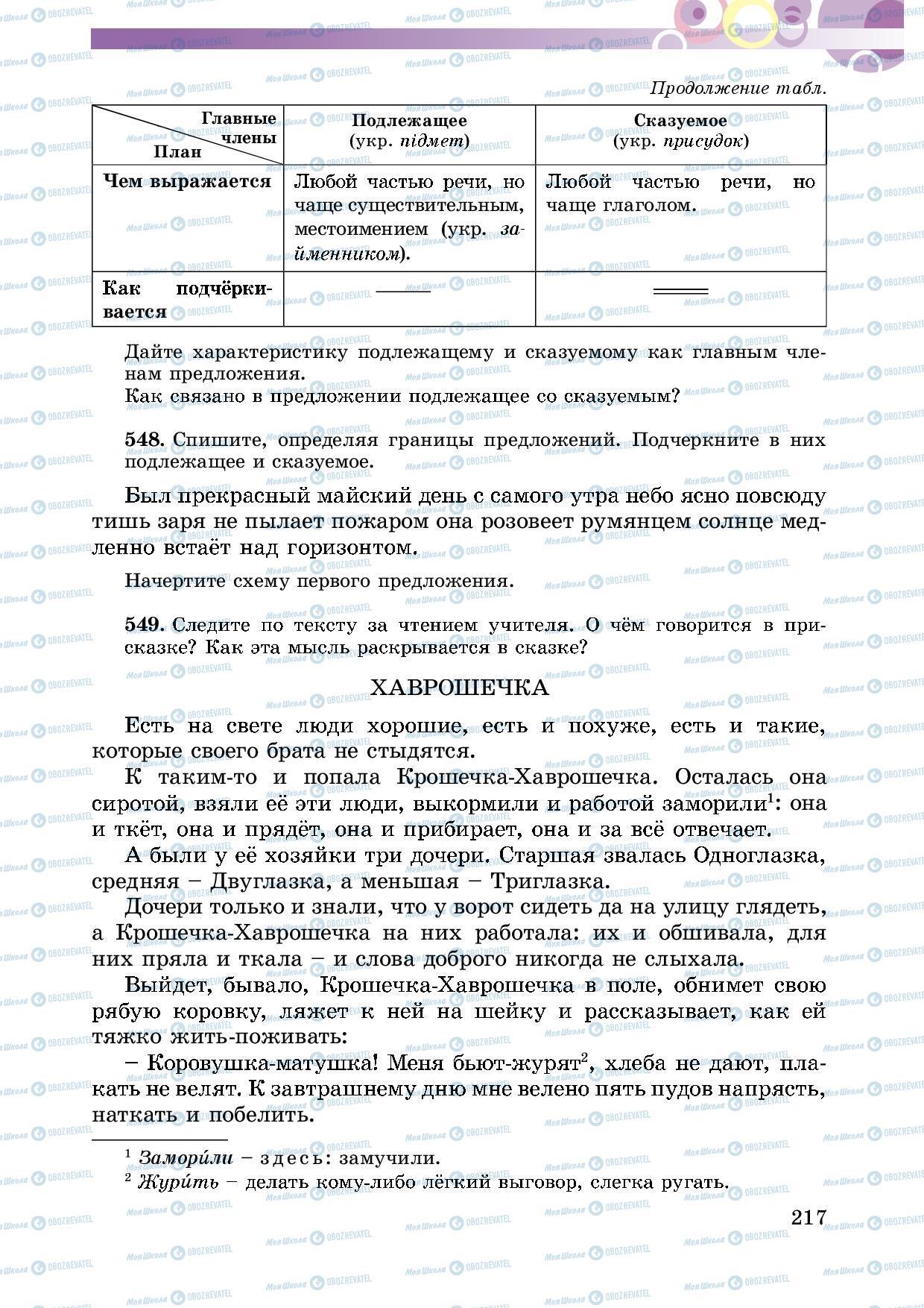 Учебники Русский язык 5 класс страница 217