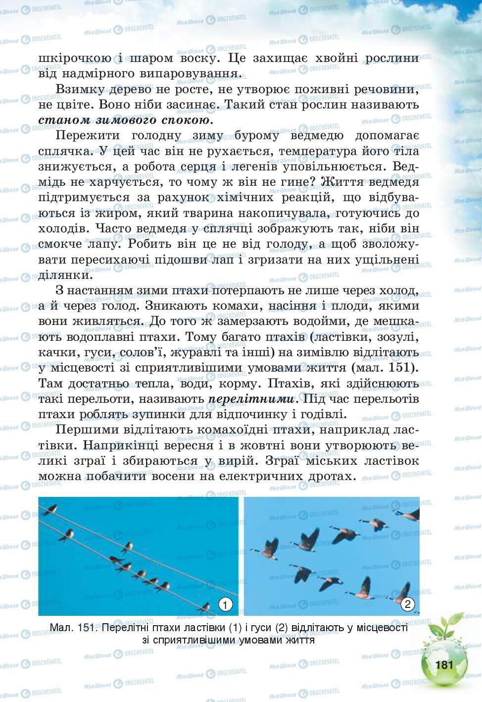 Підручники Природознавство 5 клас сторінка 181