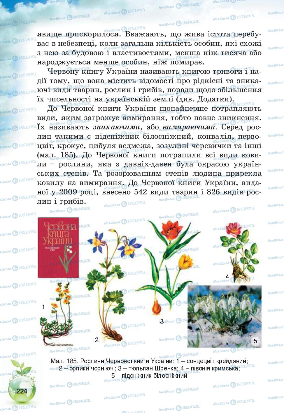 Учебники Природоведение 5 класс страница 224