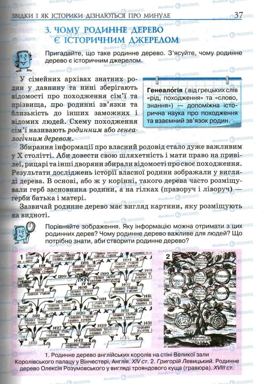 Учебники История Украины 5 класс страница 35