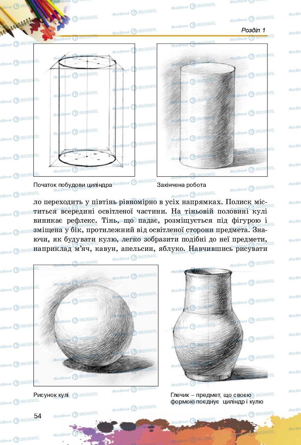 Учебники Изобразительное искусство 5 класс страница 54