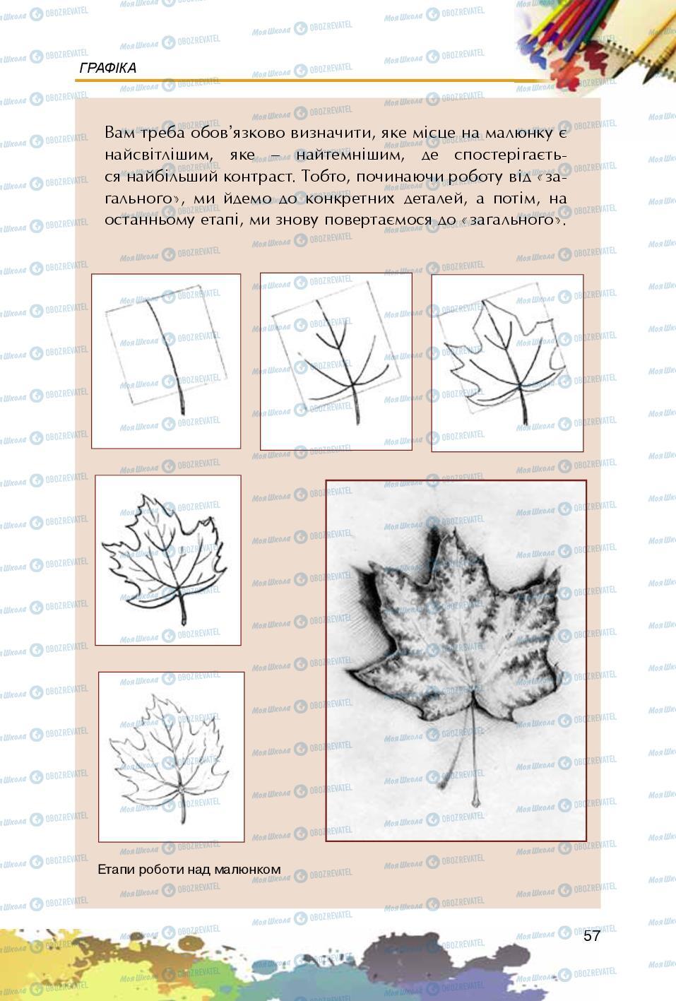 Учебники Изобразительное искусство 5 класс страница 57