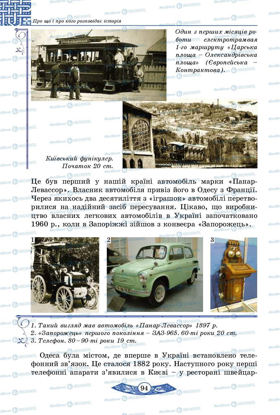 Учебники История Украины 5 класс страница 94