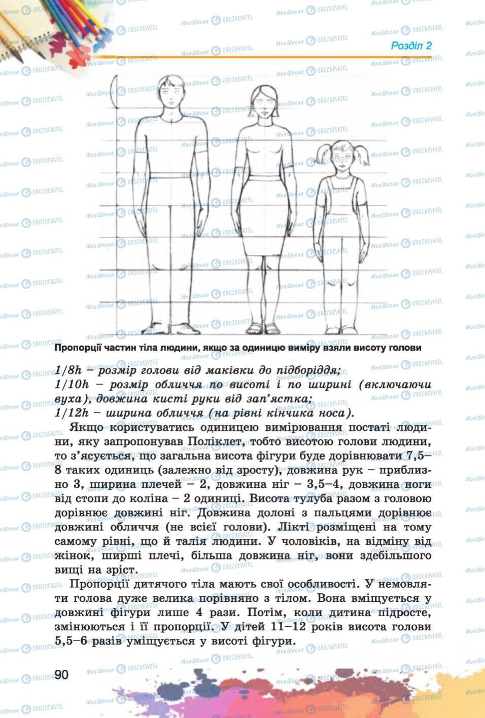 Підручники Образотворче мистецтво 6 клас сторінка 90