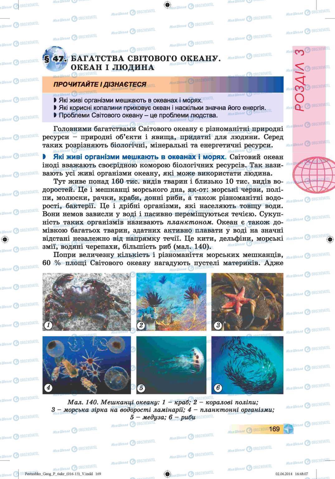 Учебники География 6 класс страница 169
