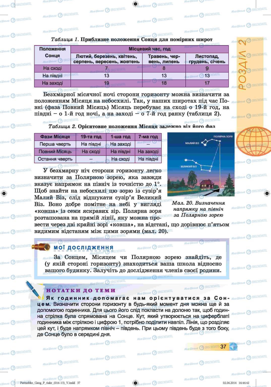 Учебники География 6 класс страница 37