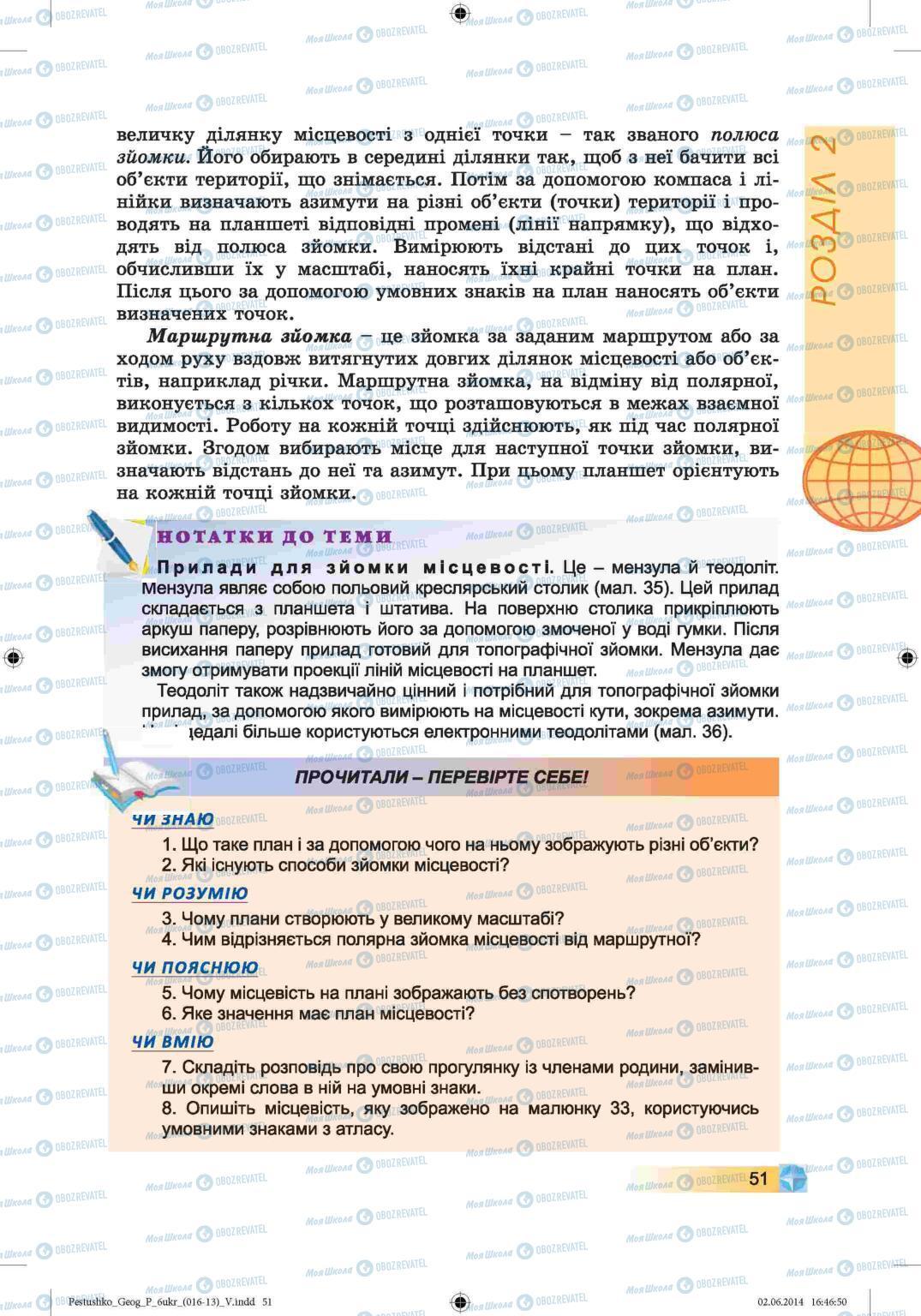 Учебники География 6 класс страница 51