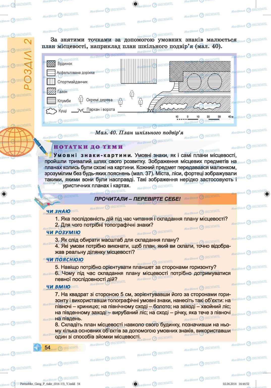 Учебники География 6 класс страница 54
