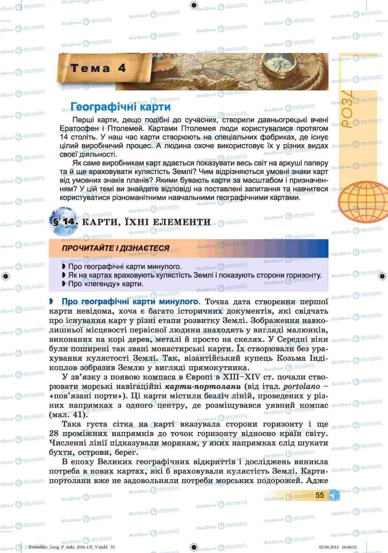 Учебники География 6 класс страница 55