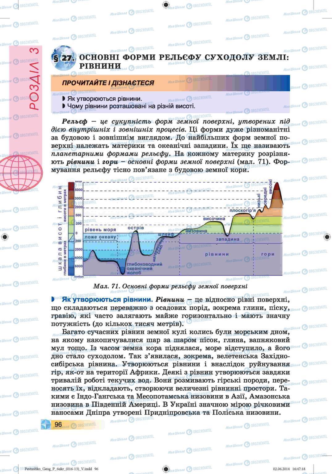 Учебники География 6 класс страница 96