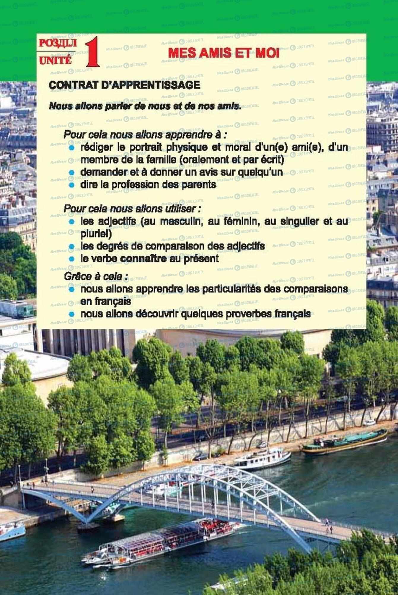Підручники Французька мова 6 клас сторінка 4