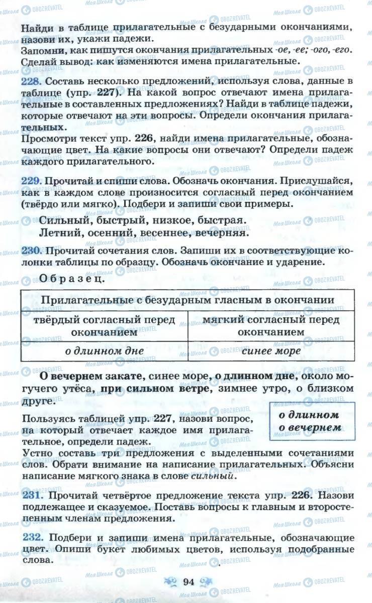 Учебники Русский язык 6 класс страница 94