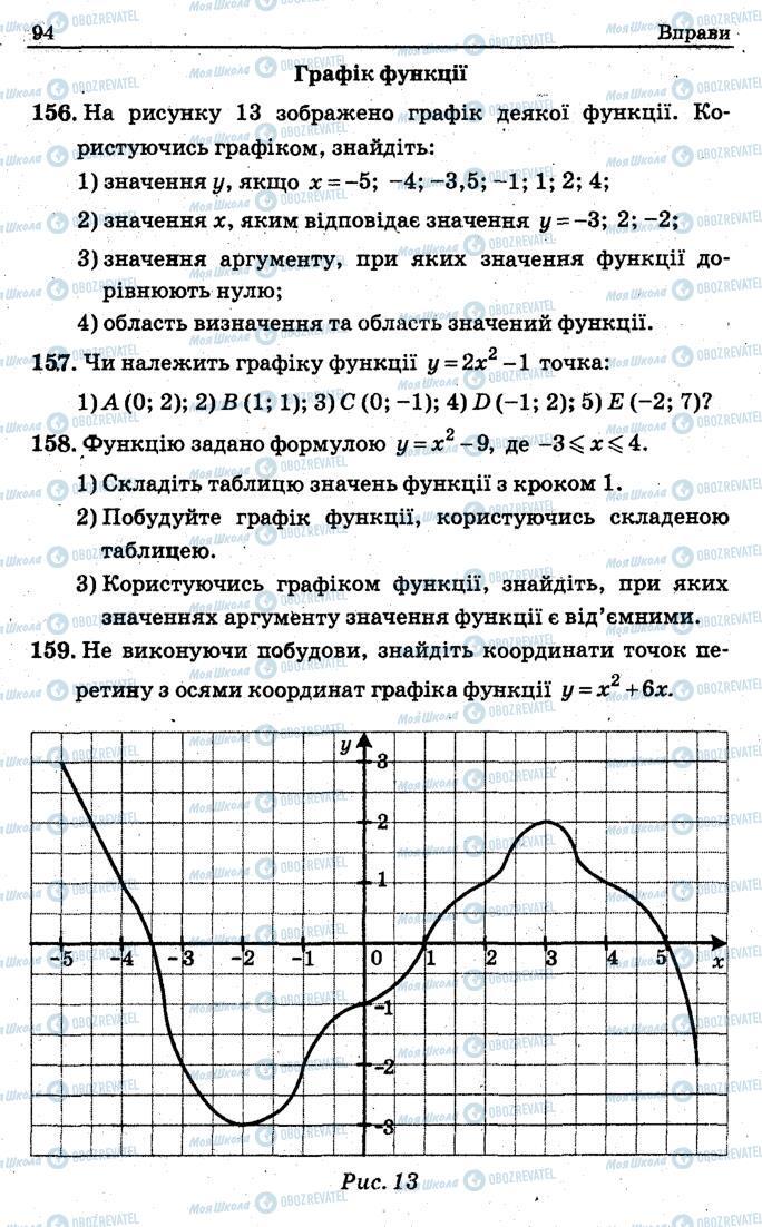Підручники Алгебра 7 клас сторінка 94