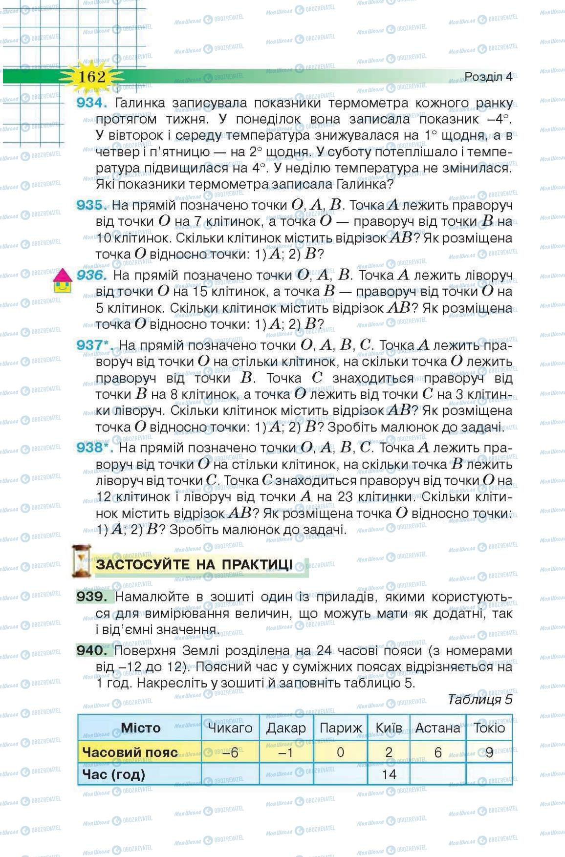 Учебники Математика 6 класс страница 162