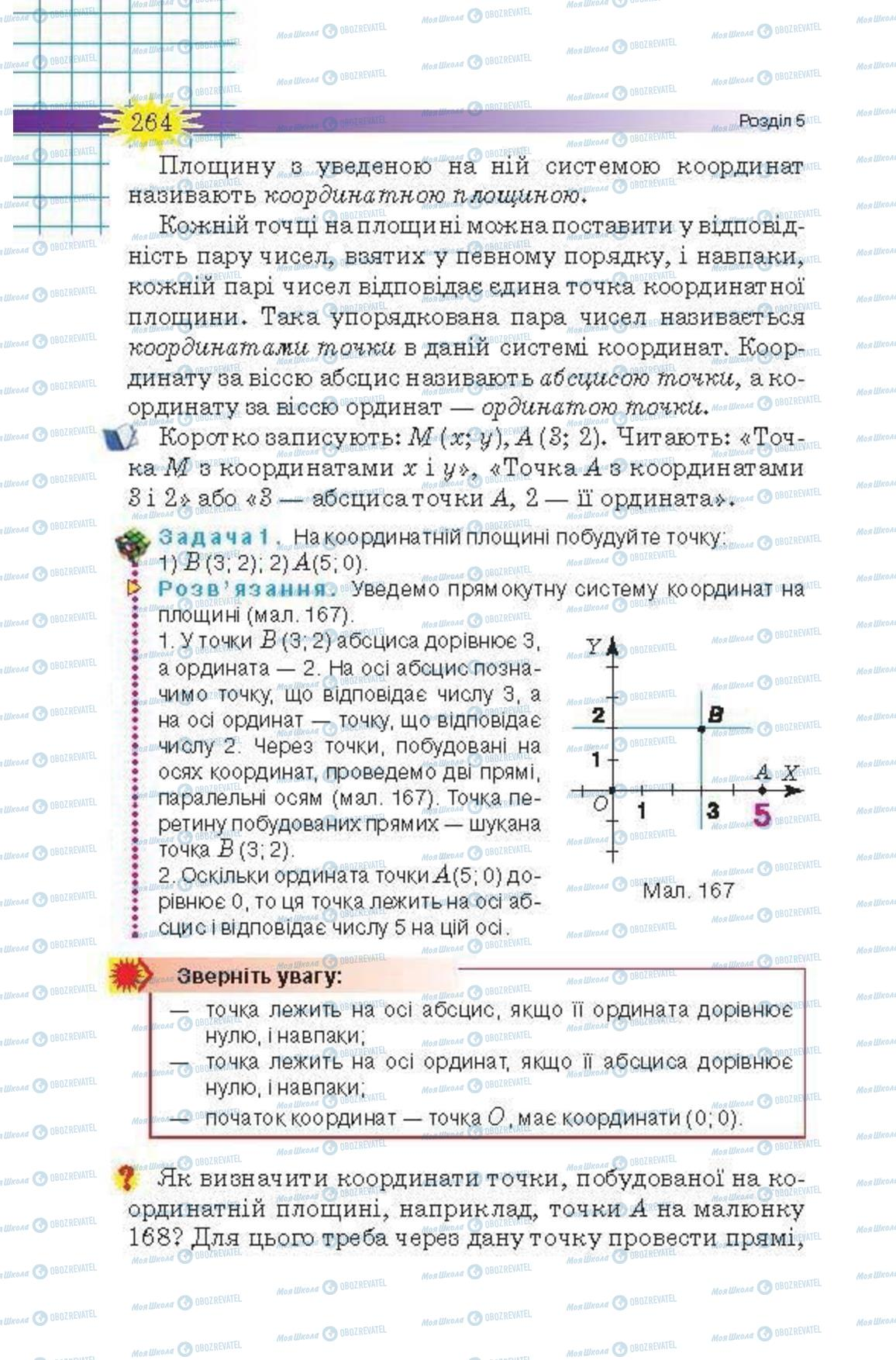 Учебники Математика 6 класс страница 264