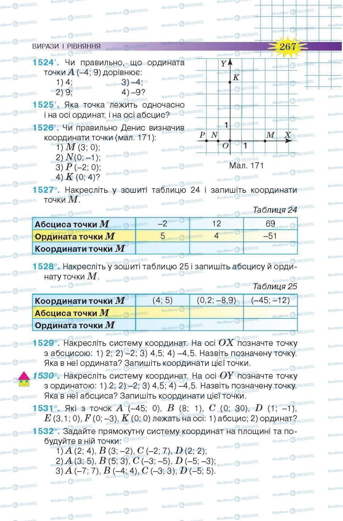 Учебники Математика 6 класс страница 267