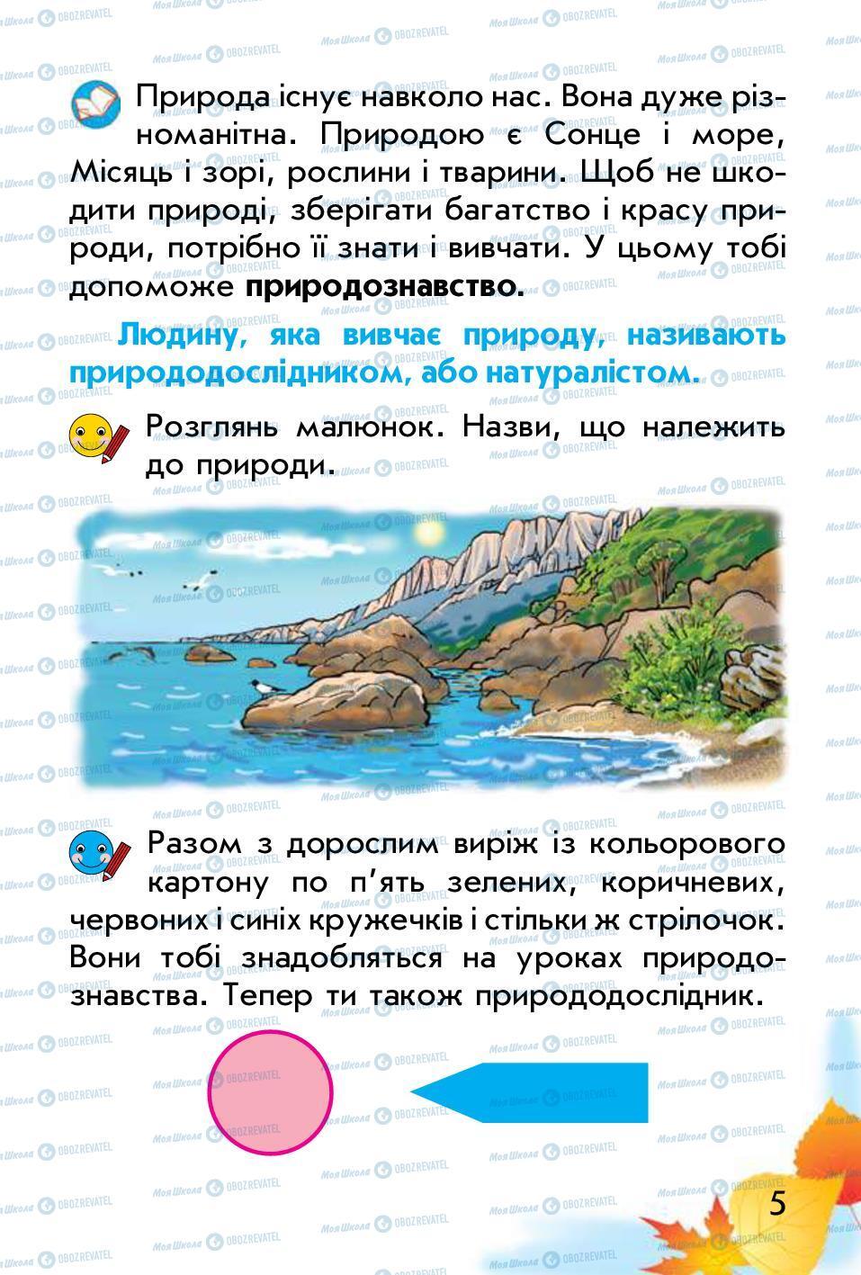 Учебники Природоведение 1 класс страница 5