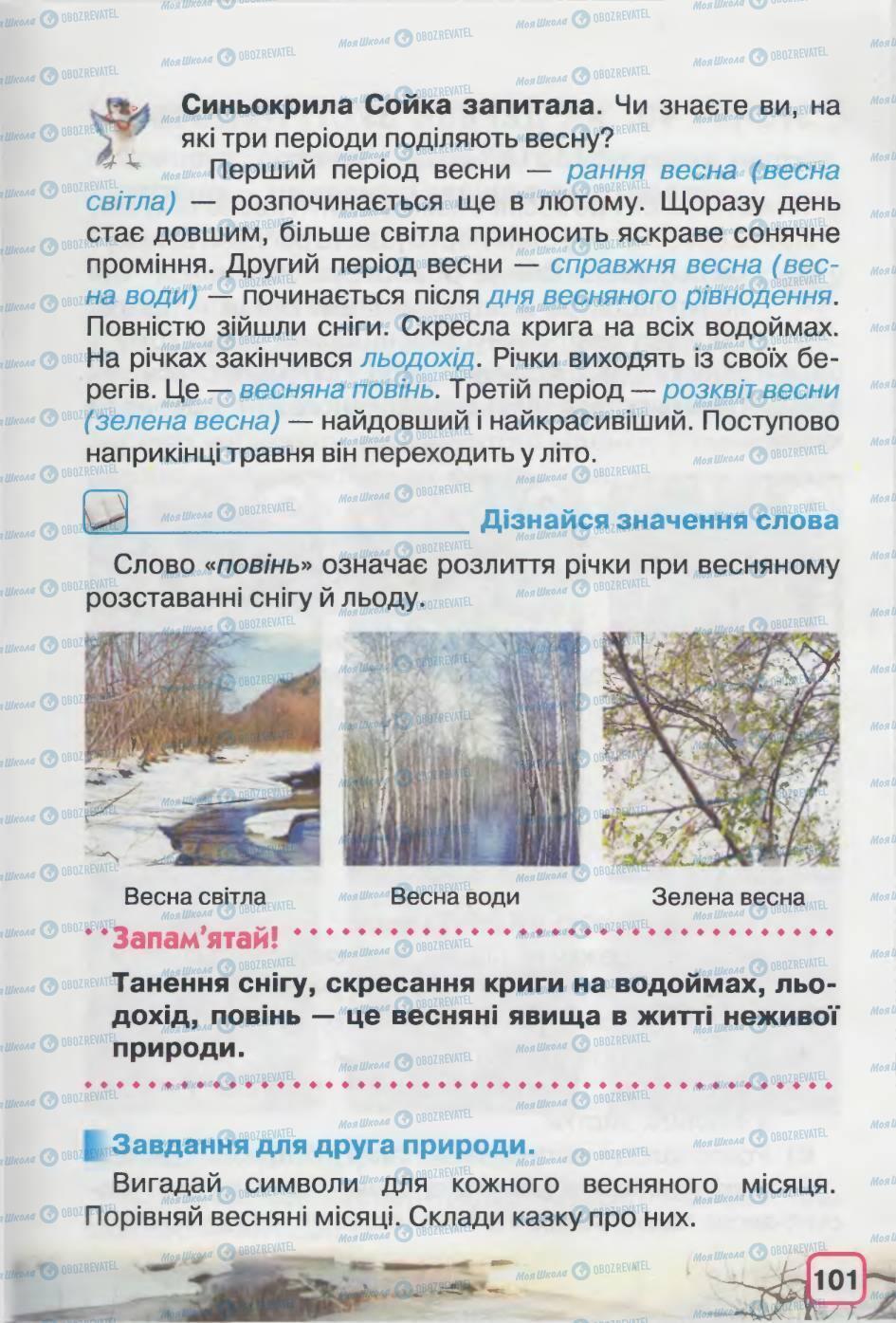 Учебники Природоведение 2 класс страница 101