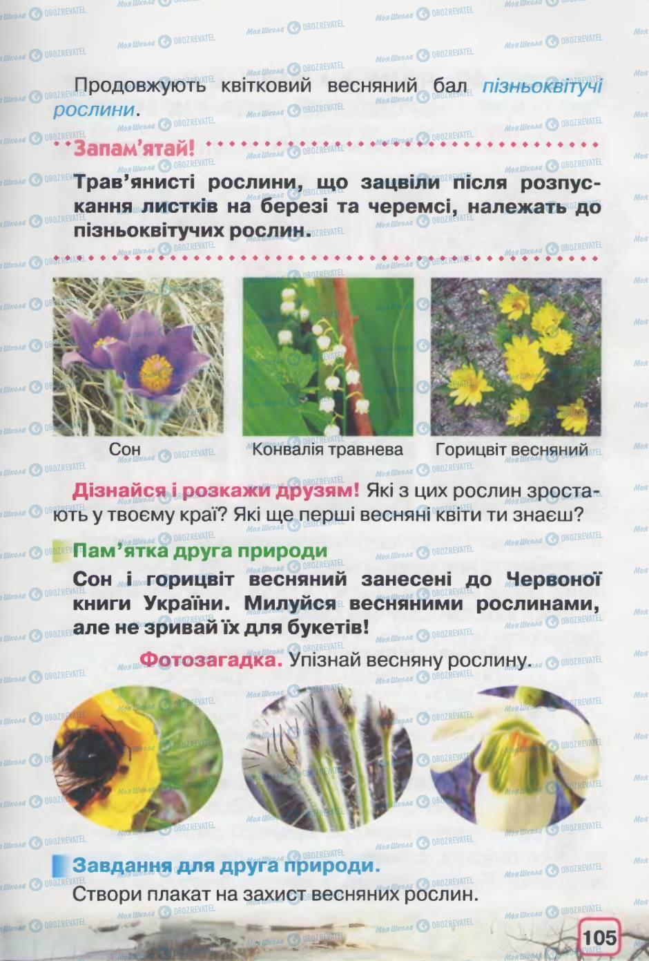 Підручники Природознавство 2 клас сторінка 105