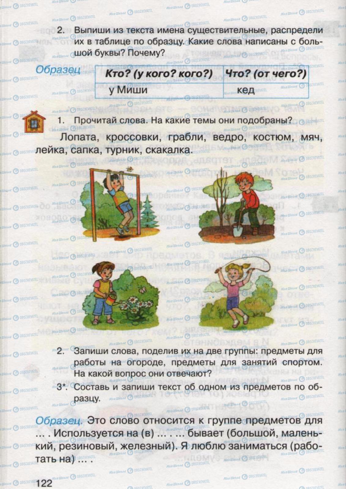 Учебники Русский язык 2 класс страница 122