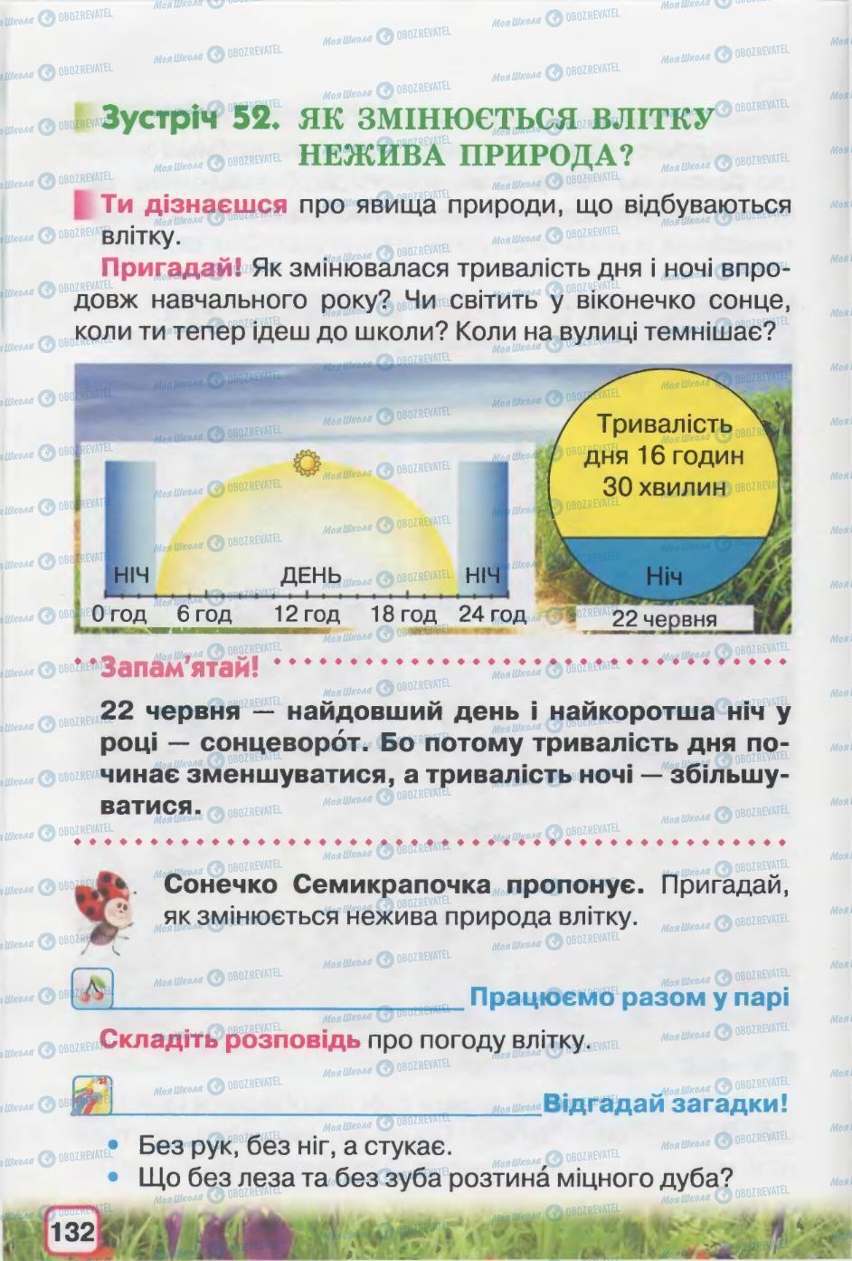 Учебники Природоведение 2 класс страница 132