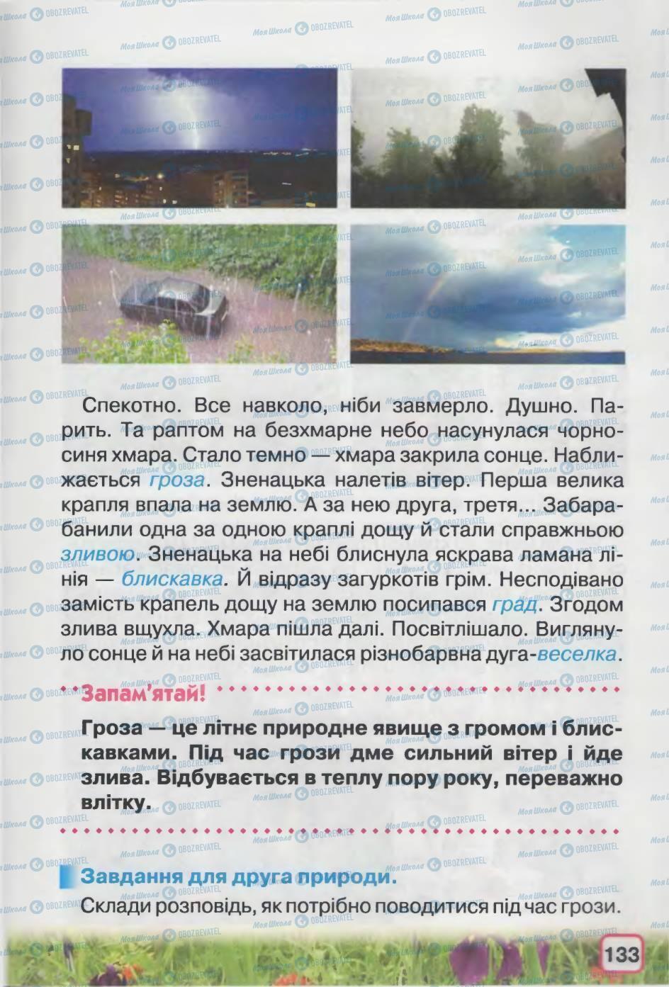 Підручники Природознавство 2 клас сторінка 133