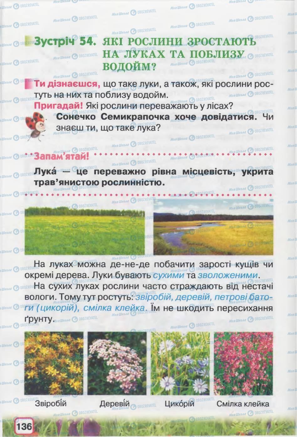 Учебники Природоведение 2 класс страница 136