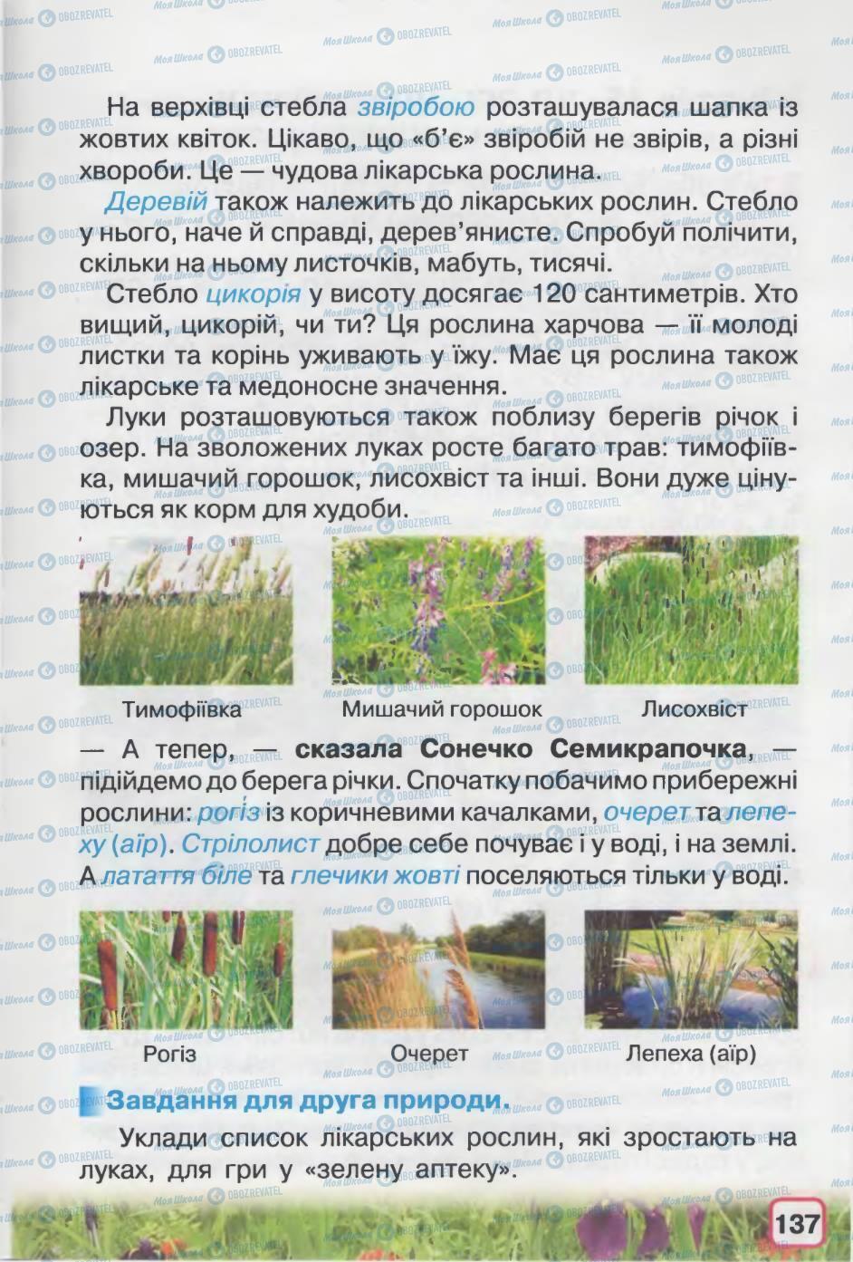 Підручники Природознавство 2 клас сторінка 137