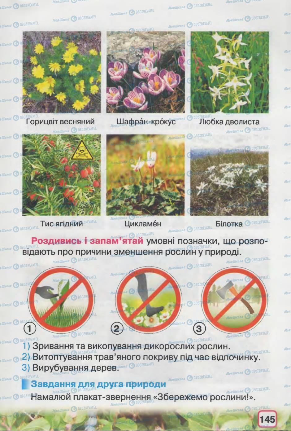 Підручники Природознавство 2 клас сторінка 145