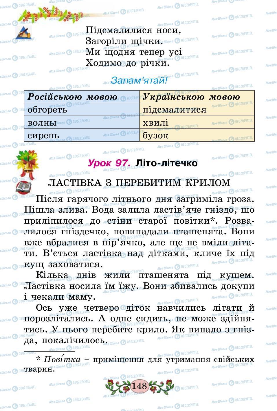 Підручники Українська мова 2 клас сторінка 148