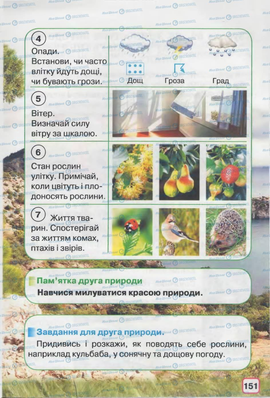 Підручники Природознавство 2 клас сторінка 151