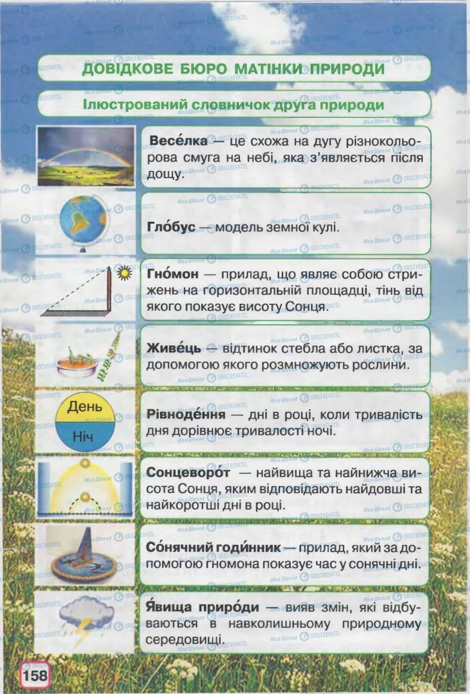 Учебники Природоведение 2 класс страница 158