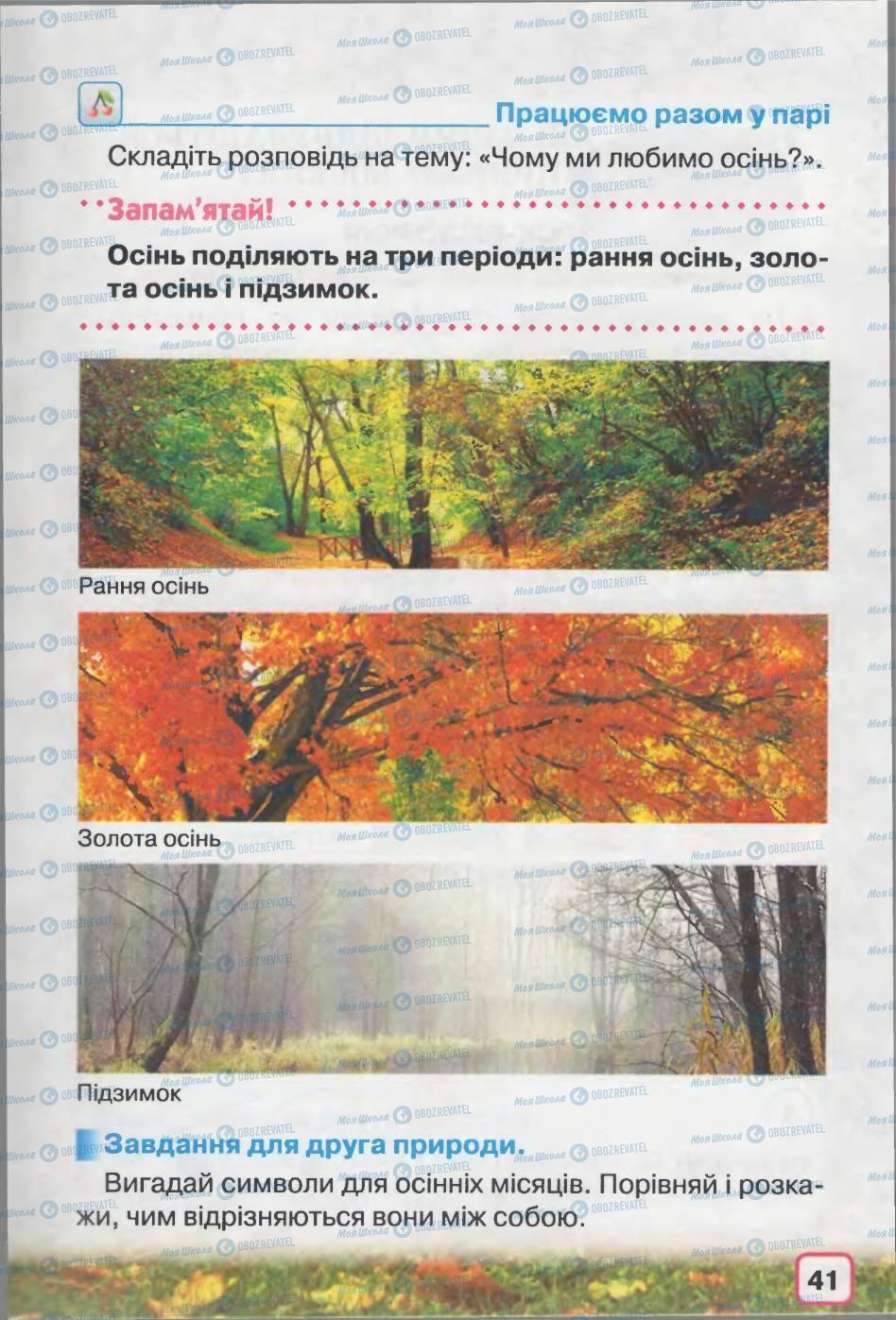 Учебники Природоведение 2 класс страница 41