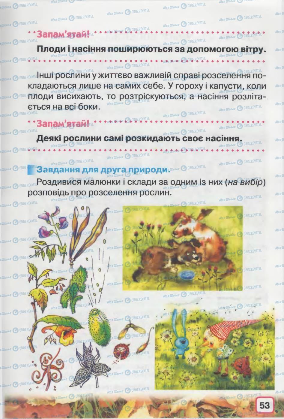 Учебники Природоведение 2 класс страница 53