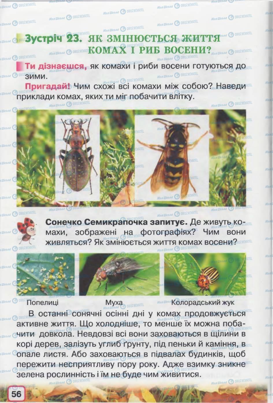Учебники Природоведение 2 класс страница 56