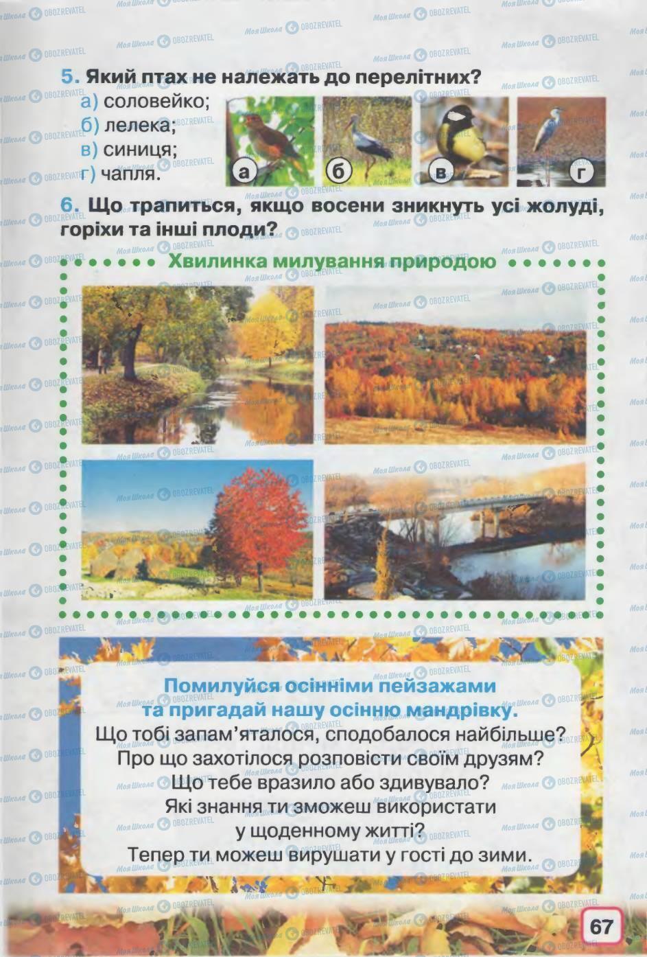 Підручники Природознавство 2 клас сторінка 67
