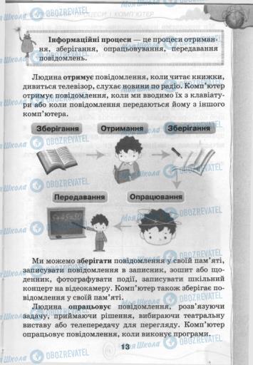 Підручники Інформатика 3 клас сторінка 13