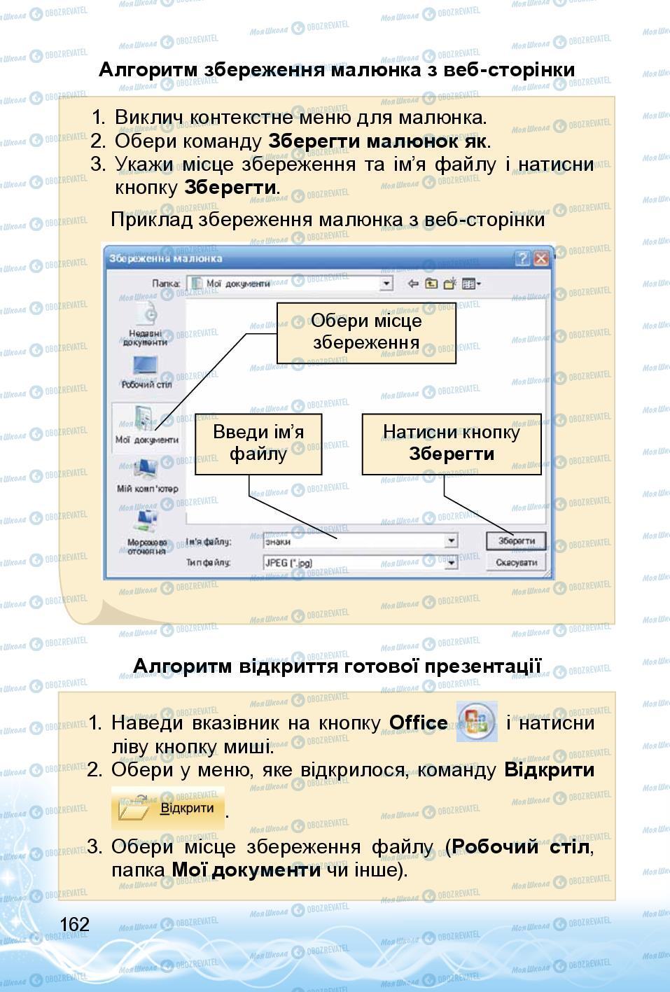 Учебники Информатика 3 класс страница 162