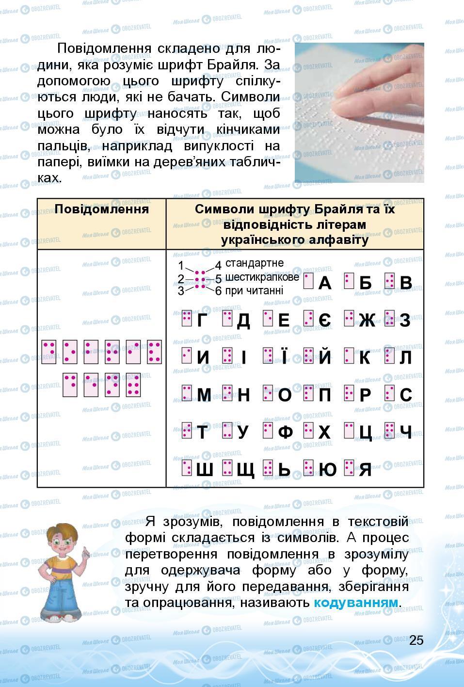Підручники Інформатика 3 клас сторінка 25