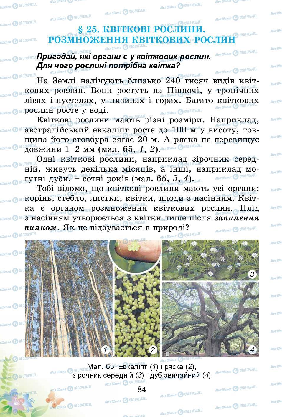 Підручники Природознавство 3 клас сторінка 84