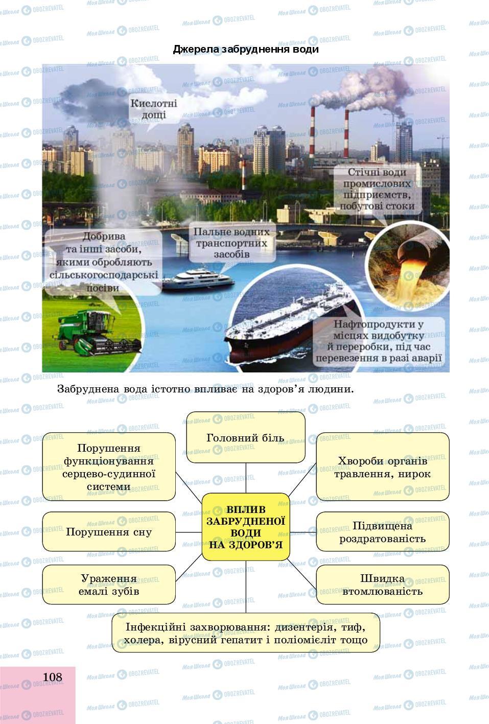 Підручники Основи здоров'я 8 клас сторінка 108