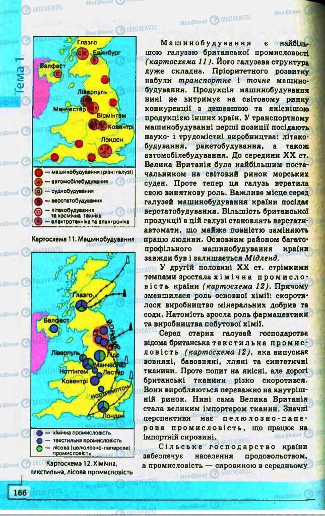 Учебники География 10 класс страница 166