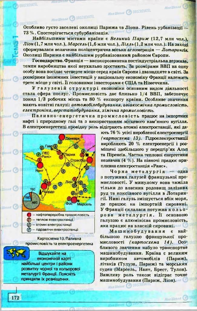 Учебники География 10 класс страница 172